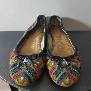 Sam Edelman Felicia Boho Embroidered Flats 8